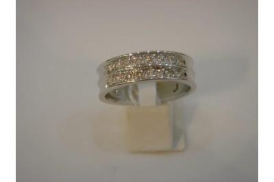 Sortija oro y diamantes